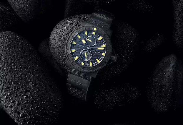 维修服务中心维修好的万国手表展示