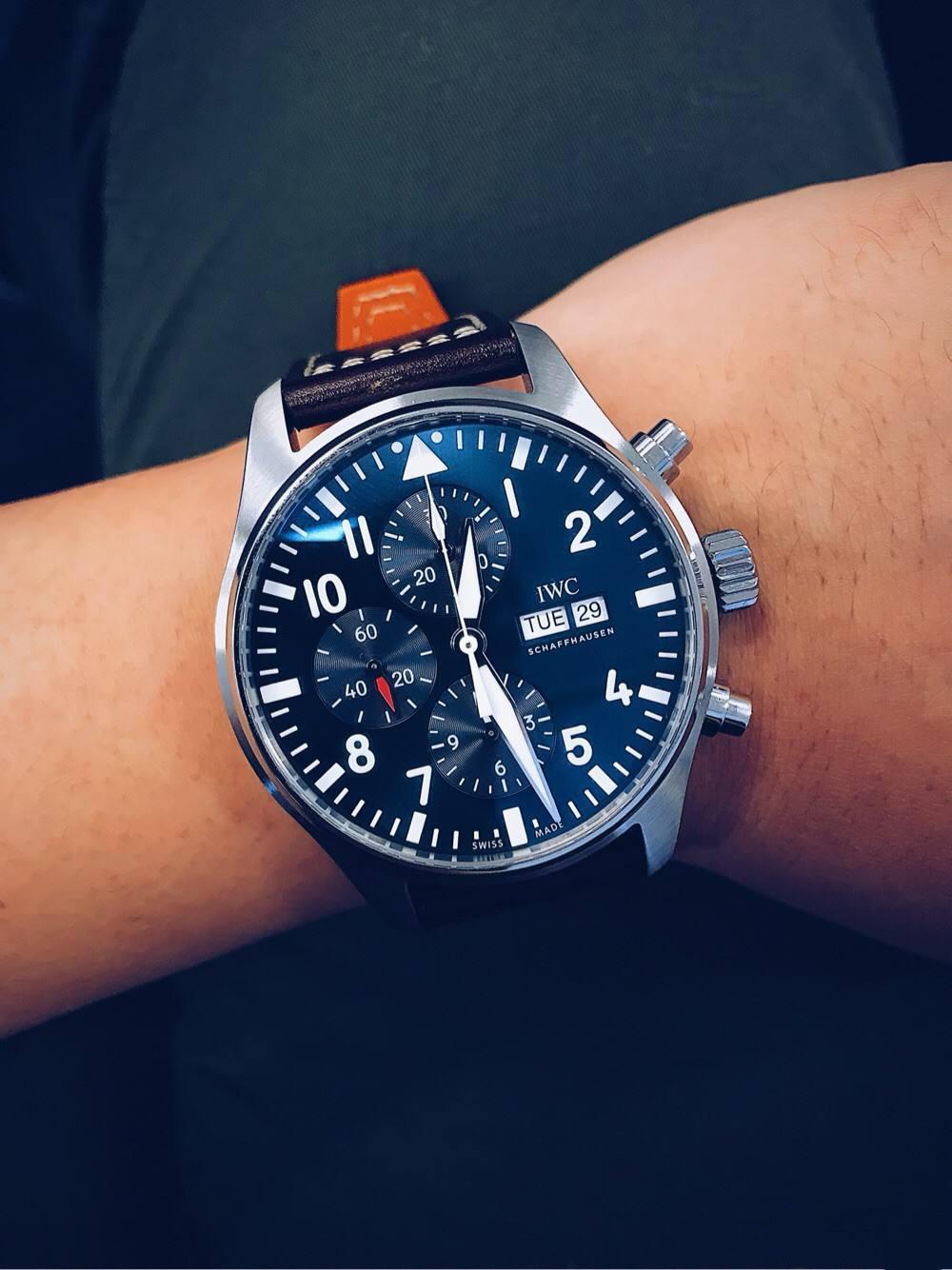 万国手表售后中心展示手表