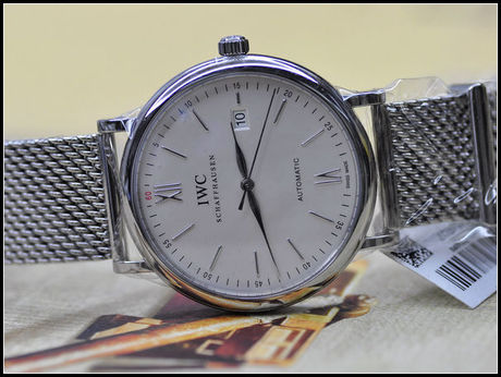 保养后的万国手表